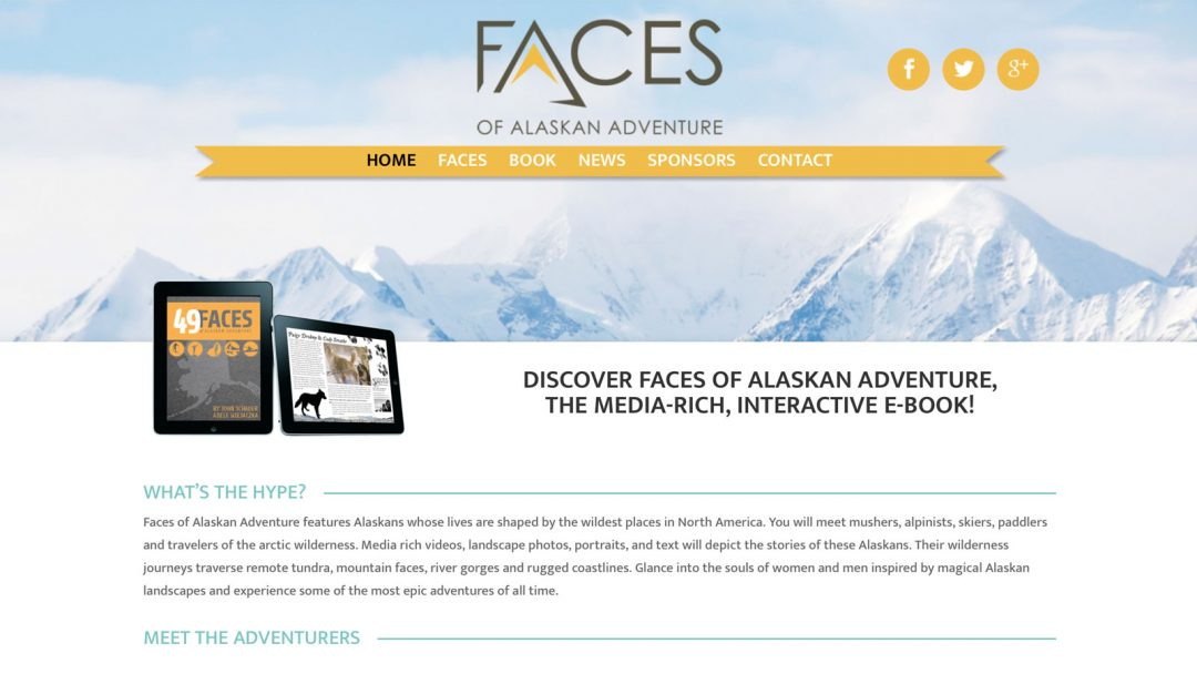Faces of Alaskan Adventure
