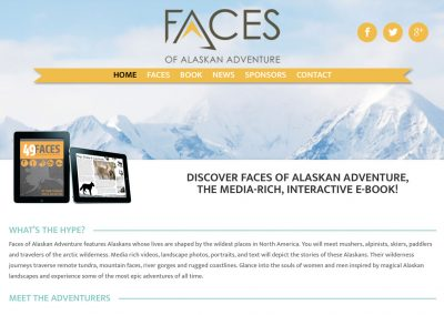 Faces of Alaskan Adventure