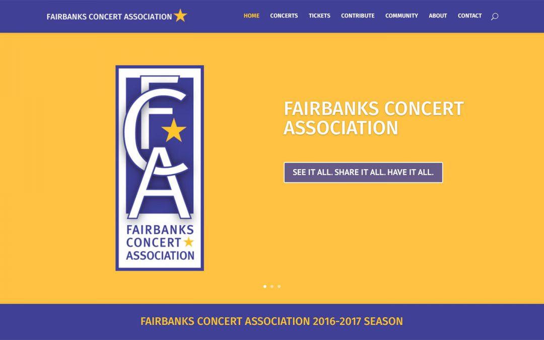 Fairbanks Concert Association