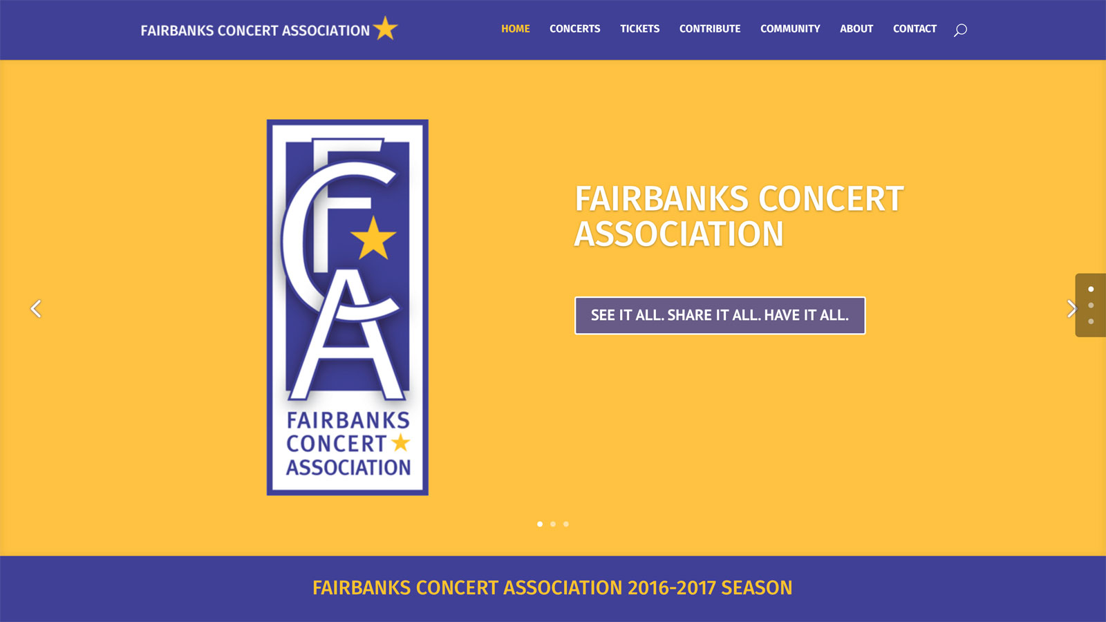 Fairbanks Concert Association
