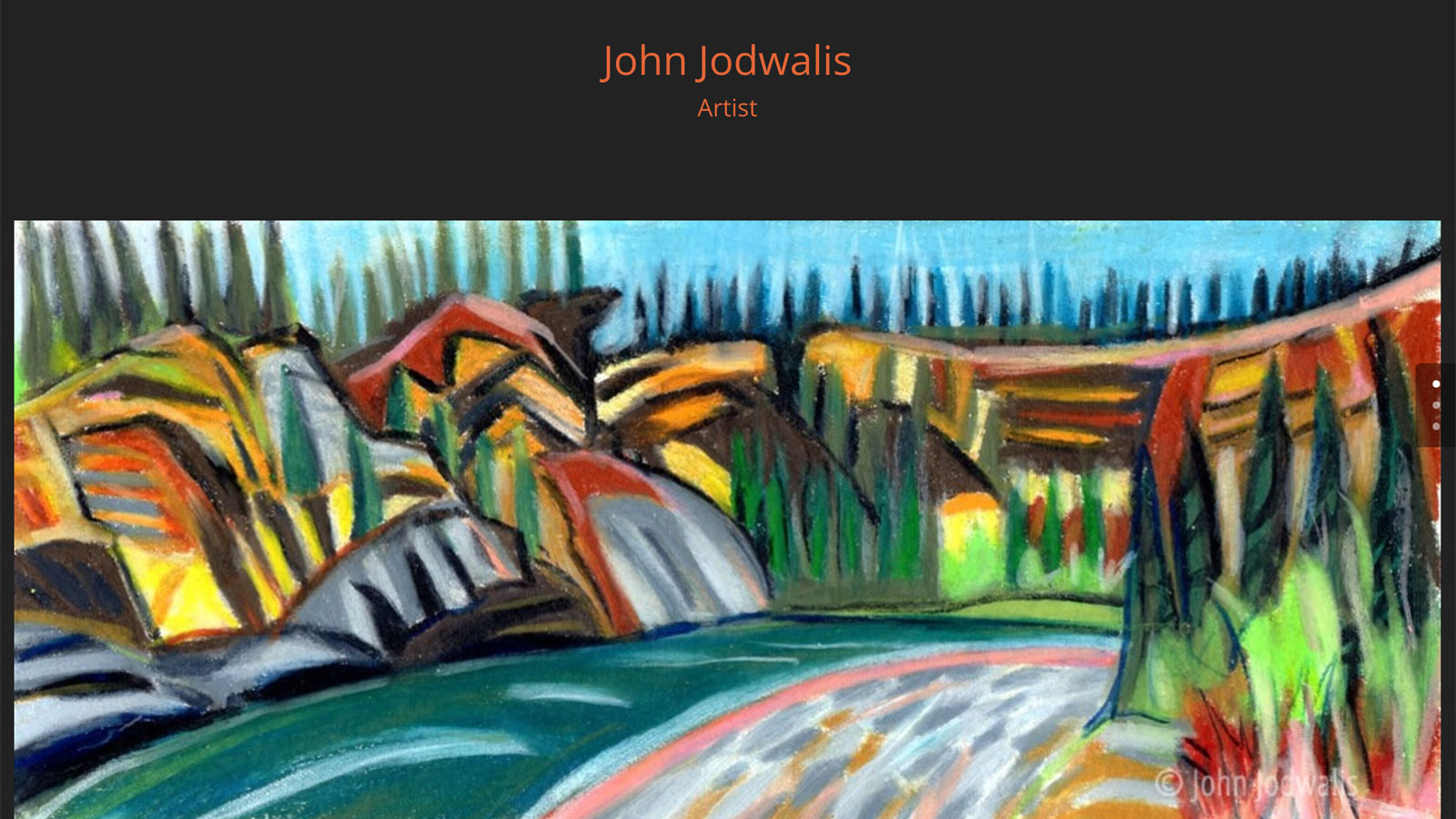 John Jodwalis – Artist